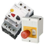	Pushbutton actuated motor-protective circuit-breaker up to 16 A