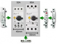 PKZM 0 and PKZM 4 – Only Two Circuit-Breakers up to 65 A